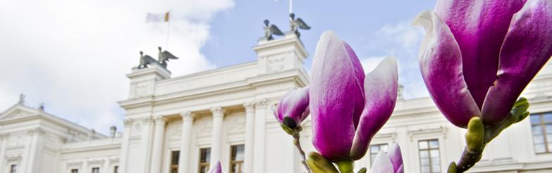 Bild på Lunds universitetshus.