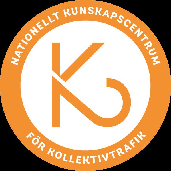 Logga för Nationellt Kunskapscentrum för Kollektivtrafik.