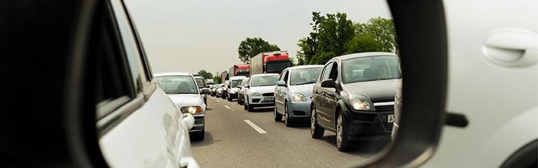 Bild på traffik.